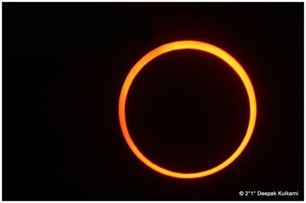 ANNULAR SOLAR ECLIPSE - KANNUR KERALA - Tour
