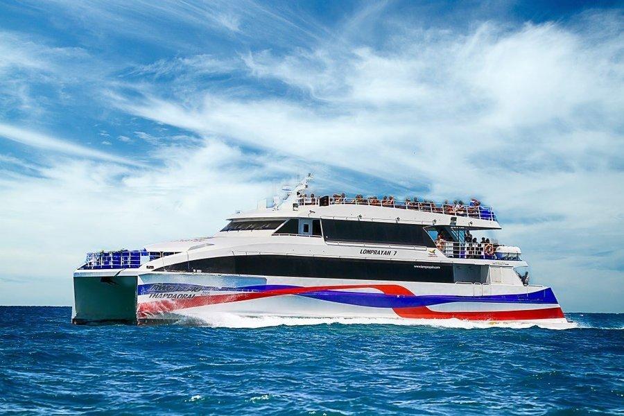 Ferry Ticket between Koh Samui (Nathon Pier/Mae Nam Pier) and Koh Phangan by Lomprayah - Tour