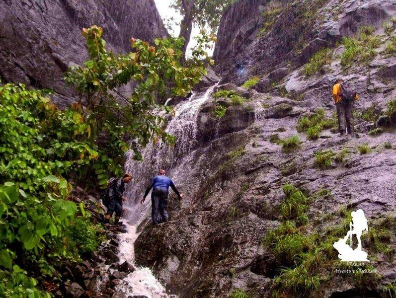 VRangers One day less explored trek to Surgad- Nagothane - Tour