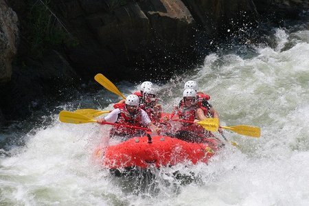 White Water Rafting in Coorg