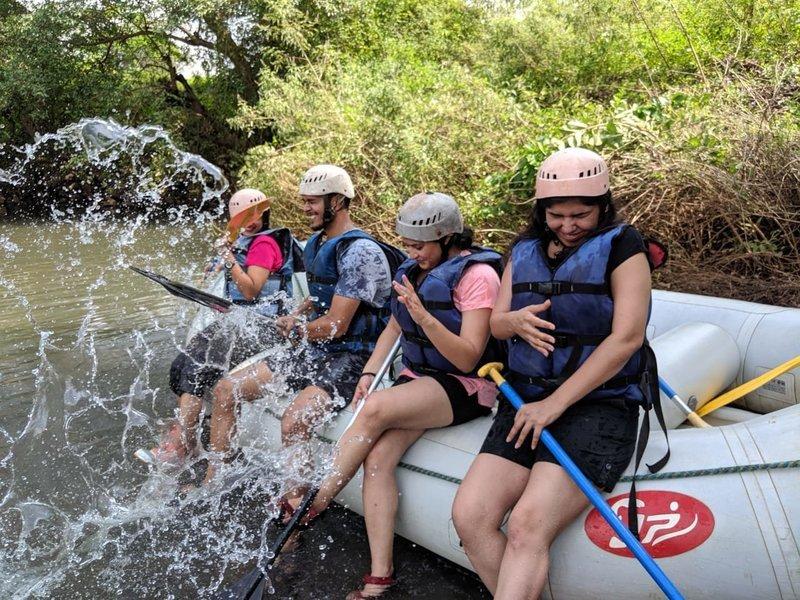 White Water  River Rafting at Kundalika - Tour