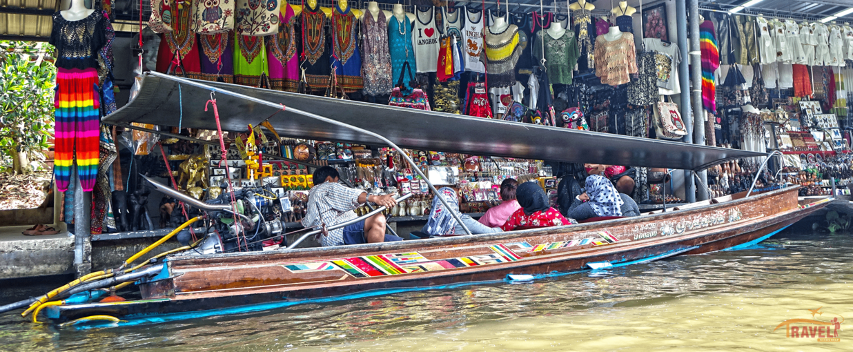 Damnoen Saduak Floating Market Tour, Sightseeing in Bangkok - Tour