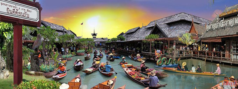Pattaya Floating Market - Tour