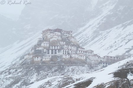 Spiti Backpacking in Winters