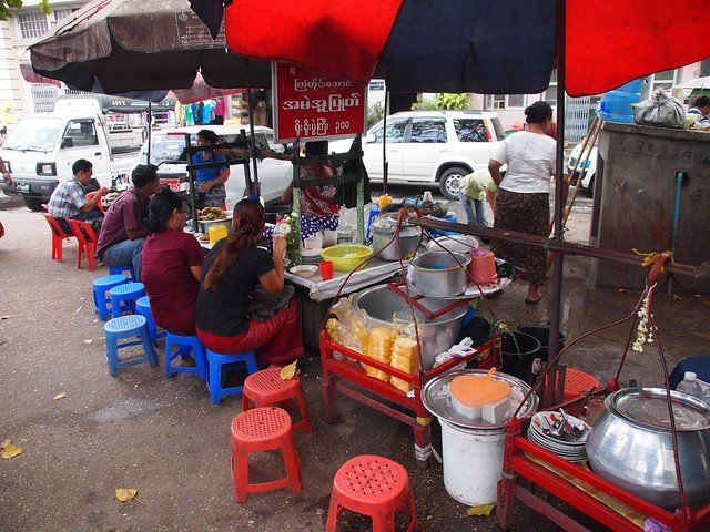 Bike and bites in Yangon - Tour