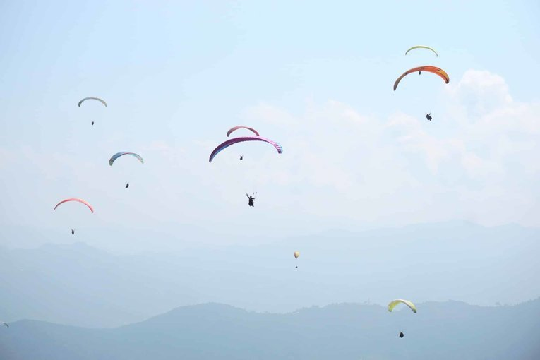 Paragliding at Sarangkot - Tour