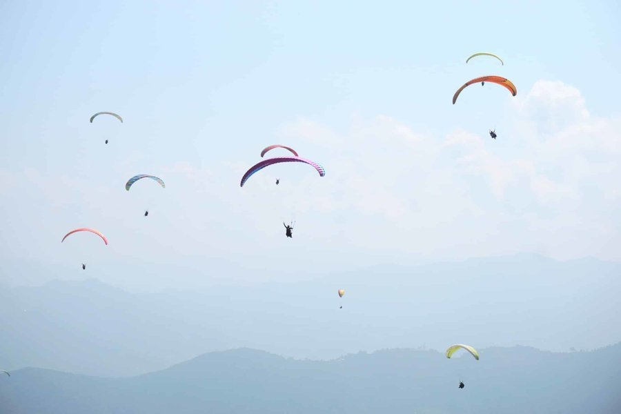 Paragliding at Sarangkot - Tour