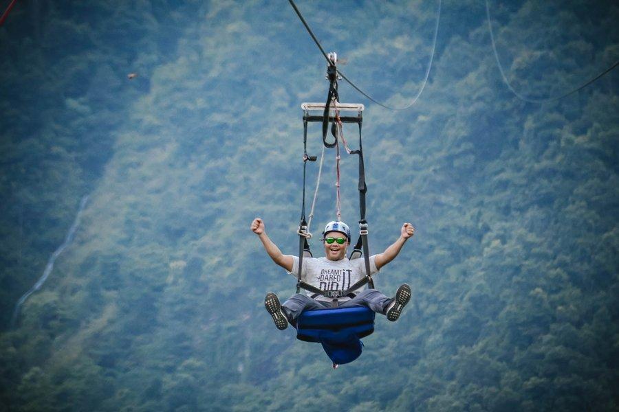 ZipFlyer + Paragliding Combo - Tour