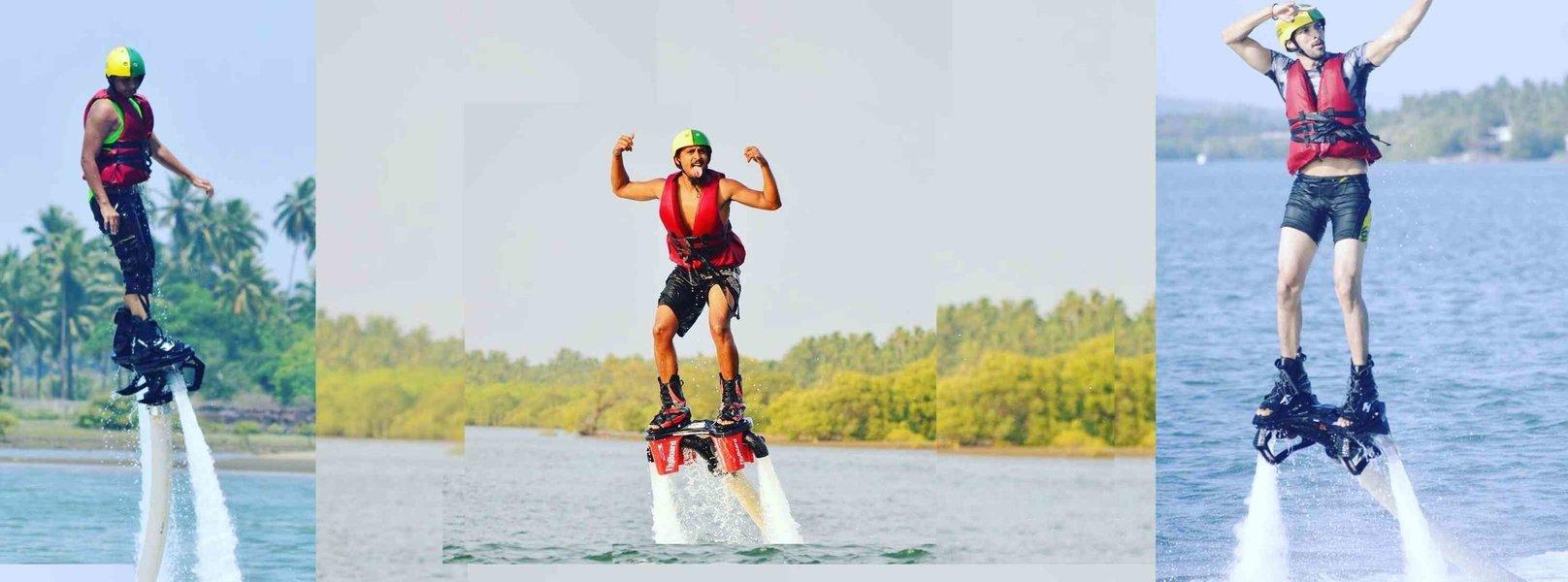 Flyboarding in Goa - Tour