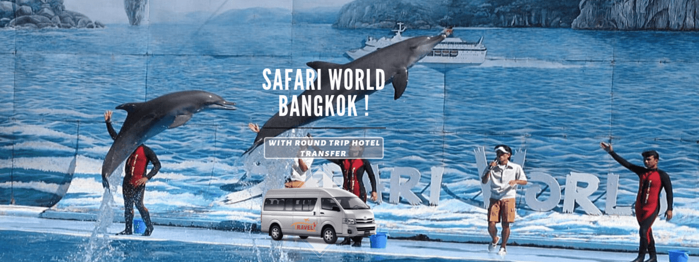 Safari World Bangkok-Tickets ,Transfers & Indian Lunch - Tour