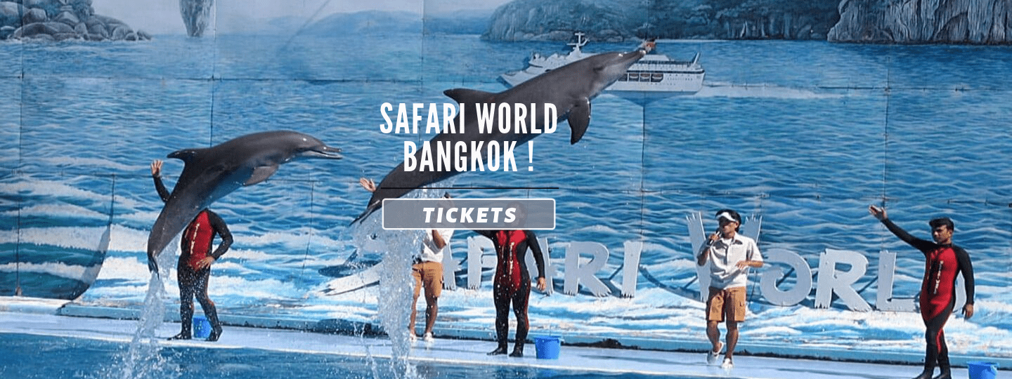 Safari World Bangkok Tickets Flat 25% Off - Tour