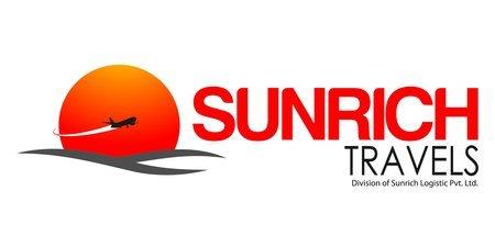 Sunrich Travels  Logo