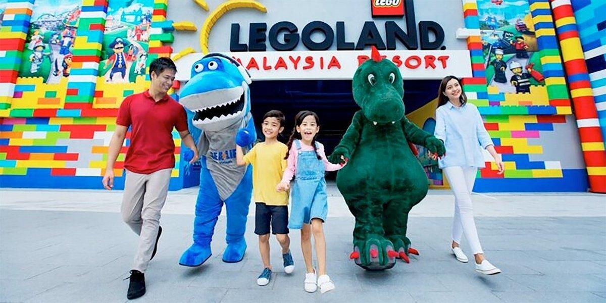 Legoland in Johor Bahru Admission Ticket - Tour