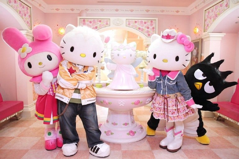 Sanrio Hello Kitty Town & Thomas Town - Tour