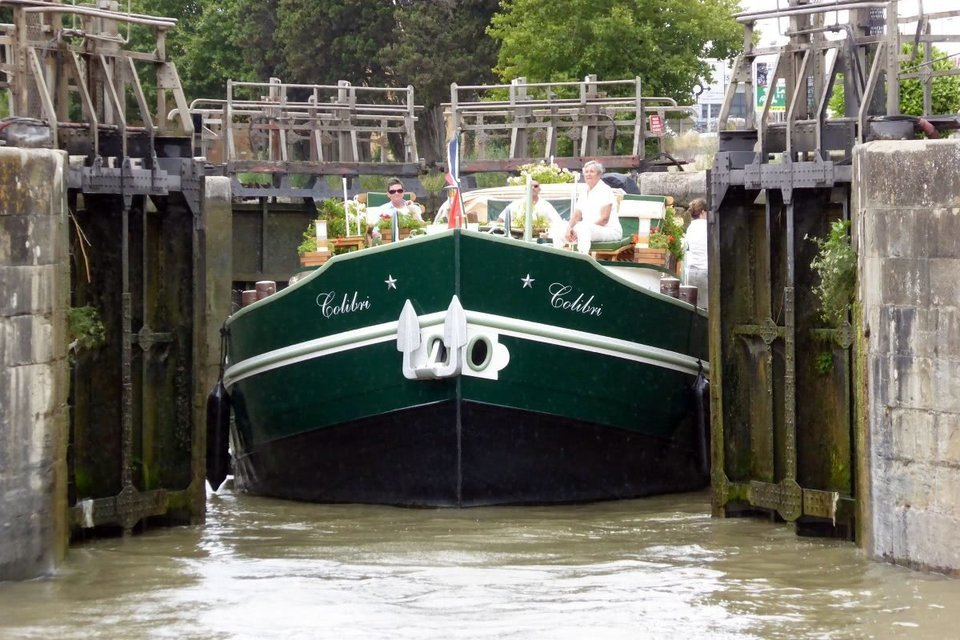 Barge Colibri - Tour
