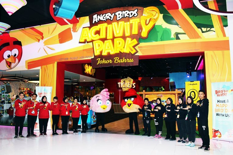 Angry Birds Activity Park - Tour