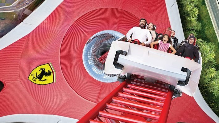 Ferrari World with Free Shuttle - Tour