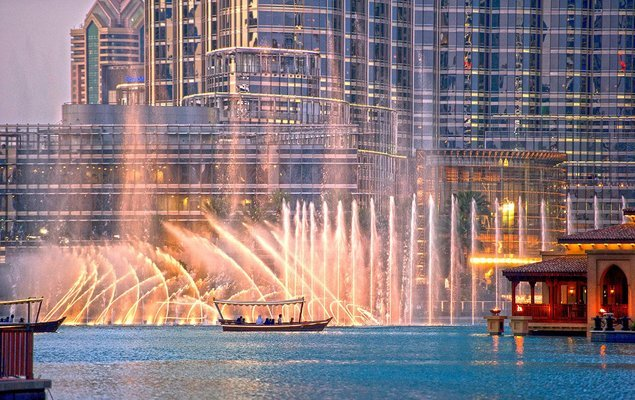 Dubai Fountain Lake Ride - Tour