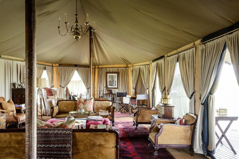Singita Sabora Tented Camp - Tour