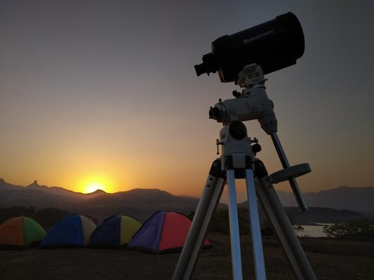 Stargazing at Bhandardara Lake Camp - Tour