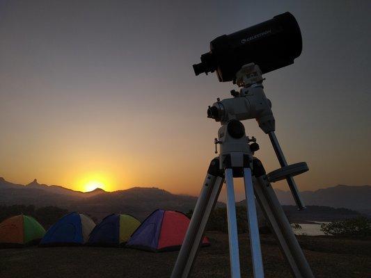 Stargazing at Bhandardara Lake Camp - Tour