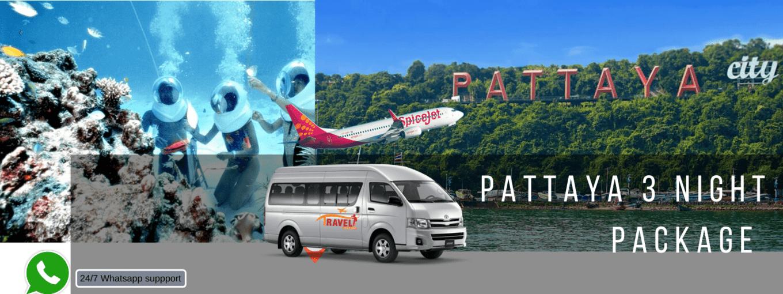 Pattaya lite (3 nights ) package - Tour