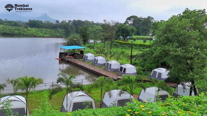 Lakeside Camping Near Karjat - Tour