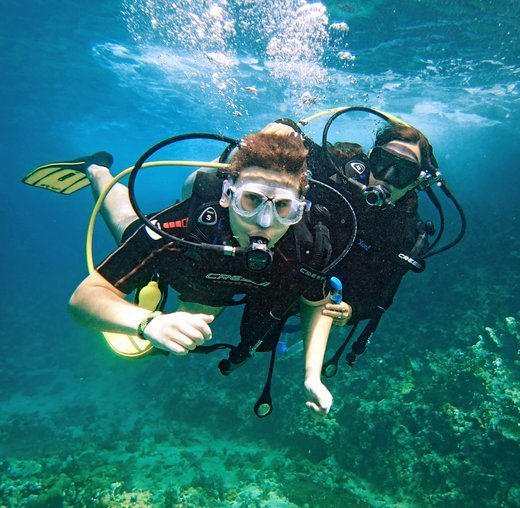 Scuba diving & watersports at paradise beach - Tour