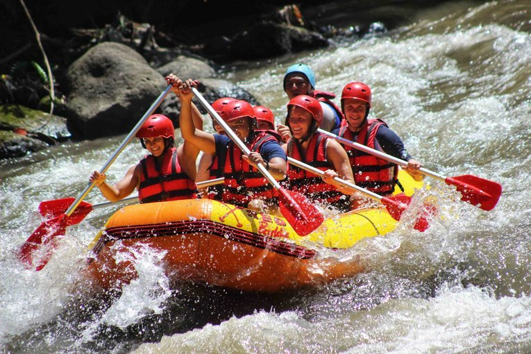 [SALE] Ayung White Water Rafting with Red Paddles - Tour