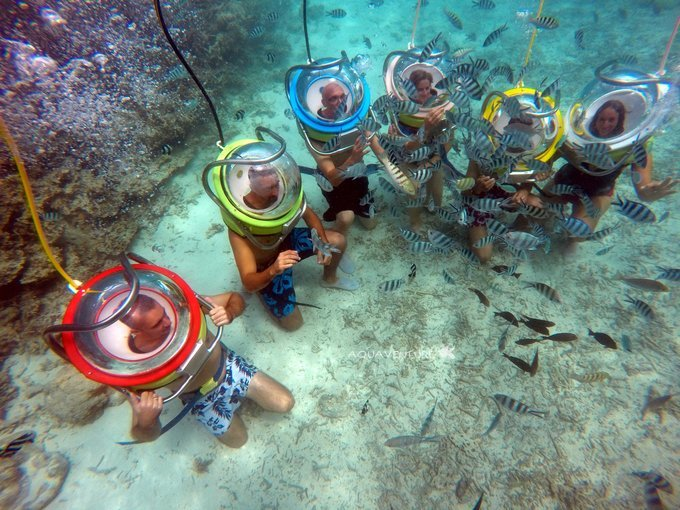 Sea Walking Experience in North Bay Island - Tour