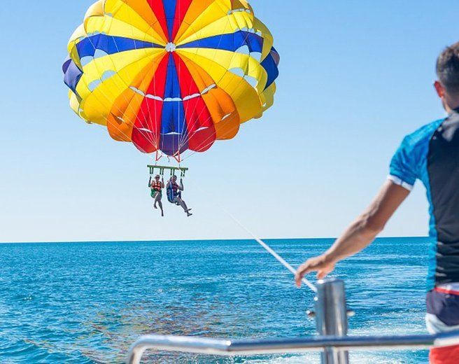 #parasailing (with Free Speed Boat Ride) - Tour