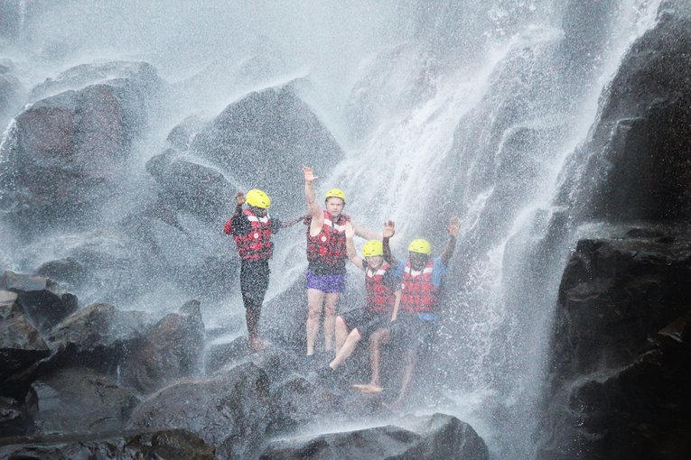 Swimming Below the Victoria Falls - Tour