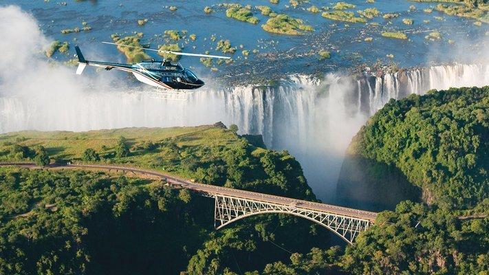 Victoria Falls Helicopter Tour - Tour