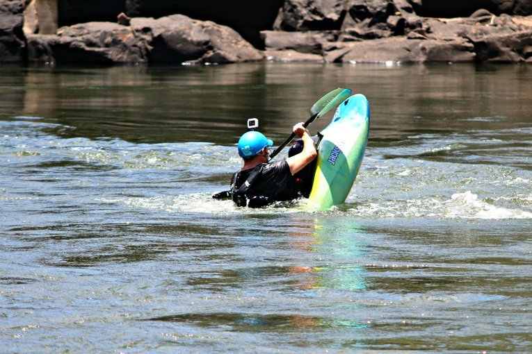 Kayaking The Zambezi - Tour