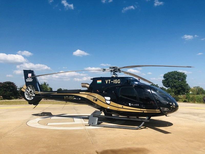 Mumbai to Shirdi by helicopter (Chopper) services - Tour