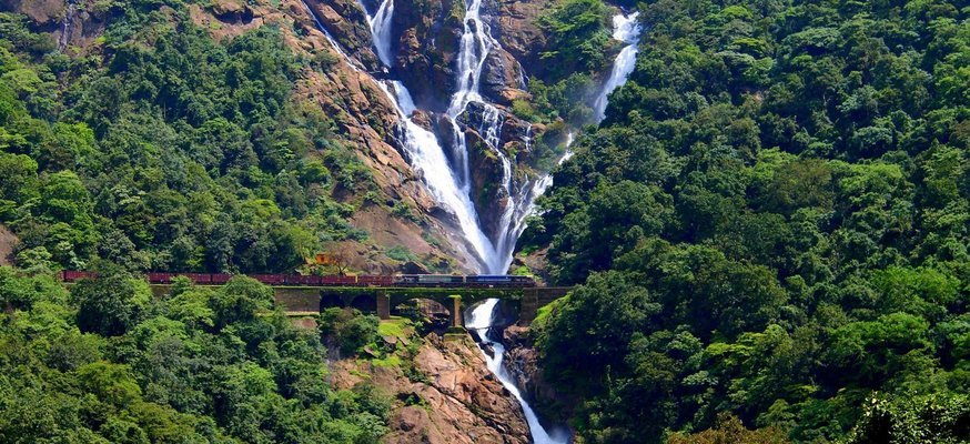 Dudhsagar Waterfall in Goa - Tour