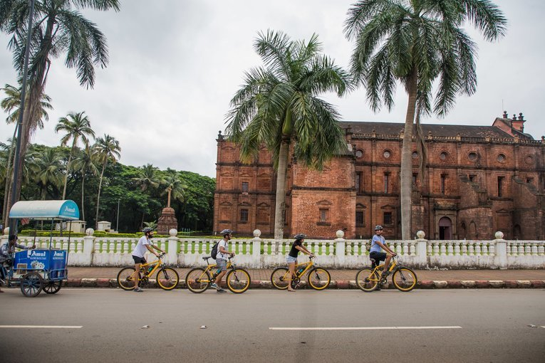 Old Goa E-Bike Tour