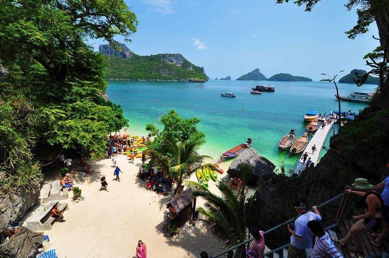 Angthong Marine Park Cruise - Tour