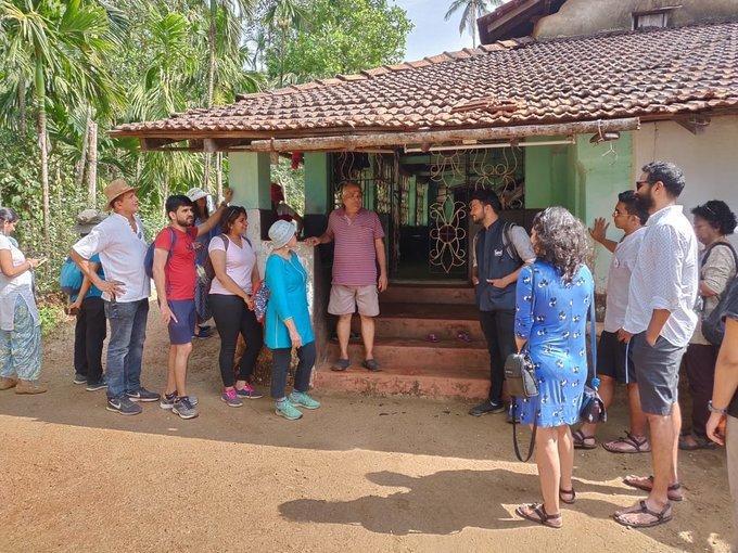 Houses of Goa Trail -Valpoi - Tour