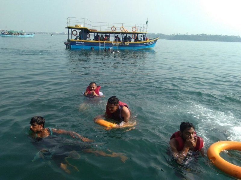 Grand island Goa with Boat tour & Snorkeling - Tour
