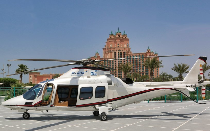 Helicopter Tour from Atlantis the Palm - Tour