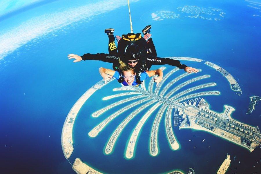 Skydive Dubai Experience - Tour