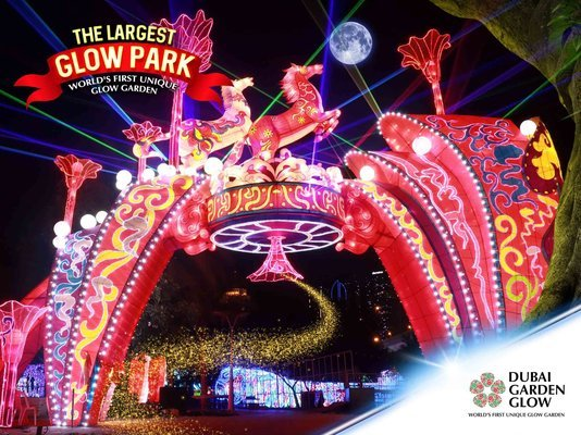 Dubai Garden Glow Ticket - Tour