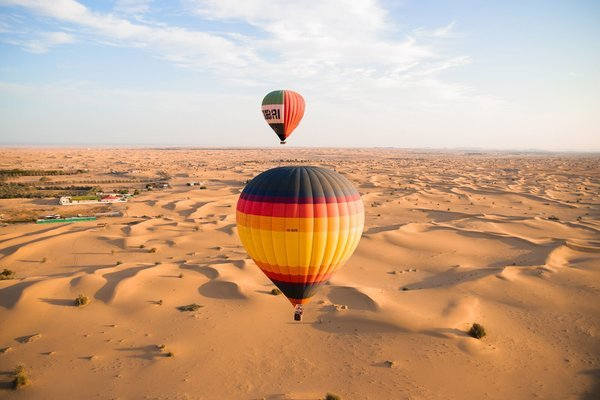 Hot Air Balloon Flight - Tour