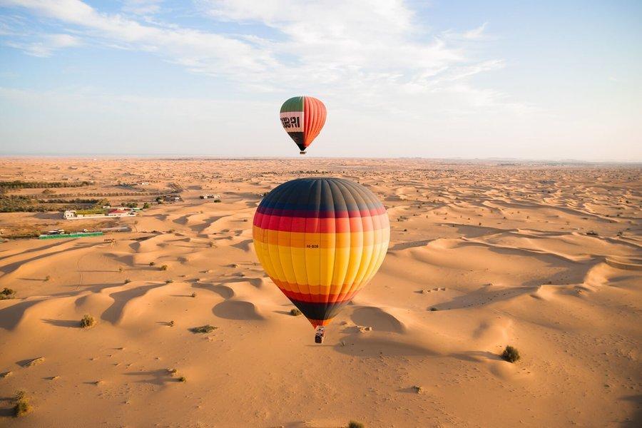 Hot Air Balloon Flight - Tour