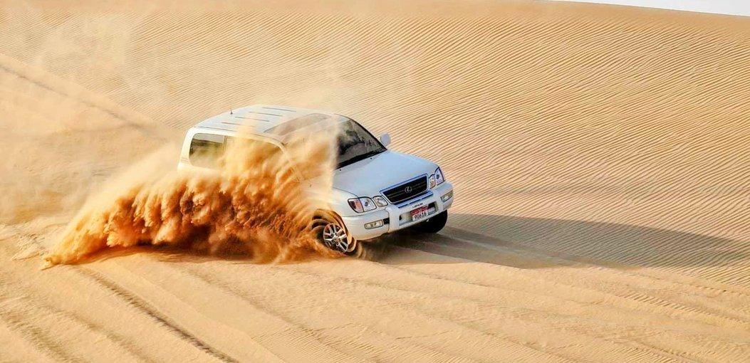 Abu Dhabi Morning Desert Safari Tour - Tour