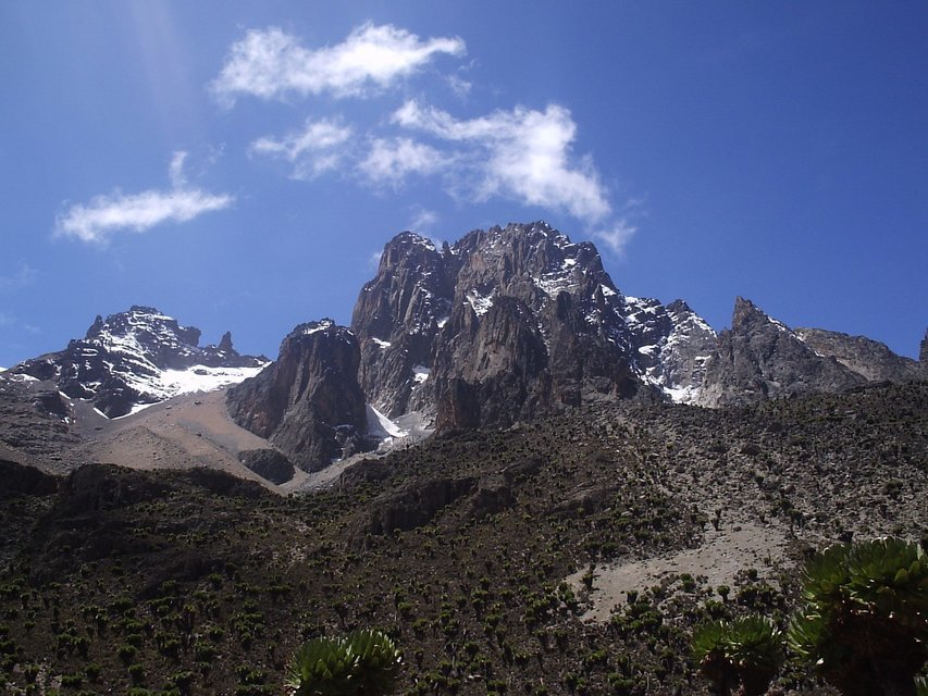 Hiking Mount Kenya - Tour