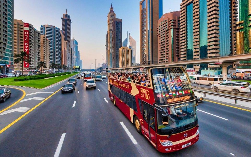 Dubai City Sightseeing Bus Pass - Tour