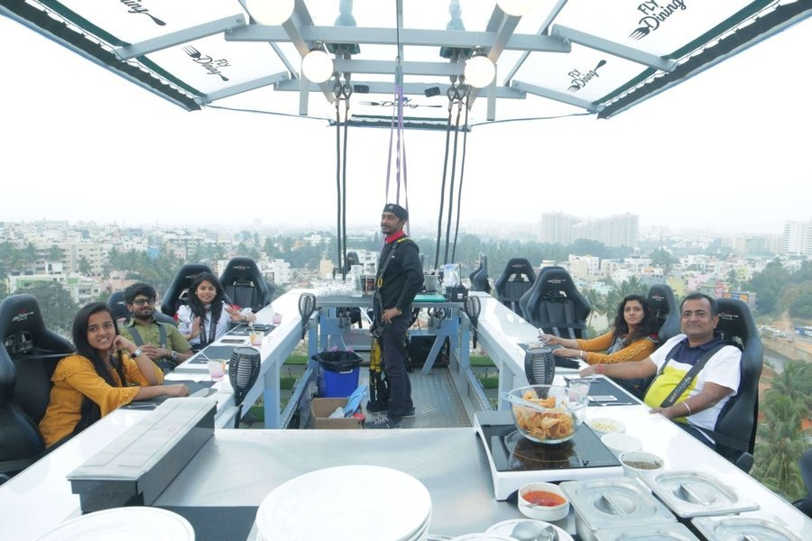 FlyDining Experience in Noida - Tour