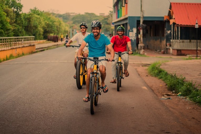 Culture Trails of Panjim - 90 Min Easy Ride - Tour